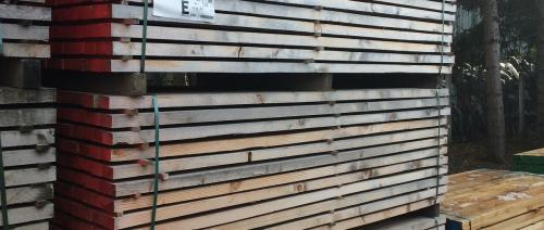 Softwood sawn timber 40 x 60